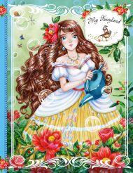 Блокнот. My Fairyland (голубой)