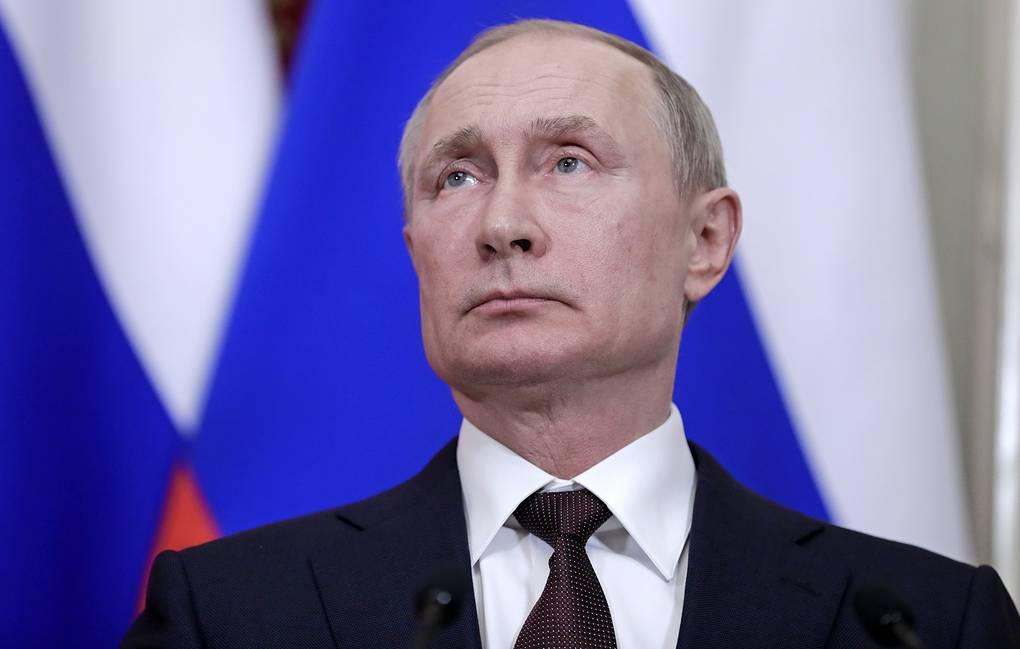 Путин. Обращения к гражданам. Хронология обращений Президента РФ.